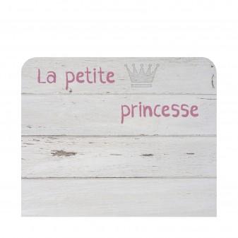 Cabecero texto princesa Cabeceros Medidas: 1100x900x16mm.; El paquete cabe en el ascensor: si - el paquete cabe en el ascensor