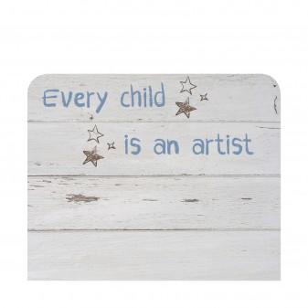 Cabecero infantil mensaje  Muebles juveniles Cabeceros Infantiles  Medidas: 1100x900x16mm; Incluye herramientas: si - incluye
