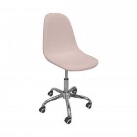Cadeira de desktop nórdica rosa  CADEIRAS DE MESA  El paquete