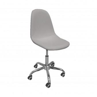 Silla escritorio nórdica gris