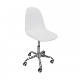 Cadeira de mesa nórdica branca  CADEIRAS DE MESA  El paquete