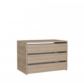 Cajonera de madera para armario de 180 cm  Accesorios armario  Medidas: 750x445x500mm; El paquete cabe en el ascensor: si - el