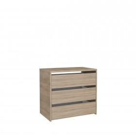 Cajonera de madera para armario de 120 cm  Accesorios armario  Medidas: 600x445x500mm; El paquete cabe en el ascensor: si - el