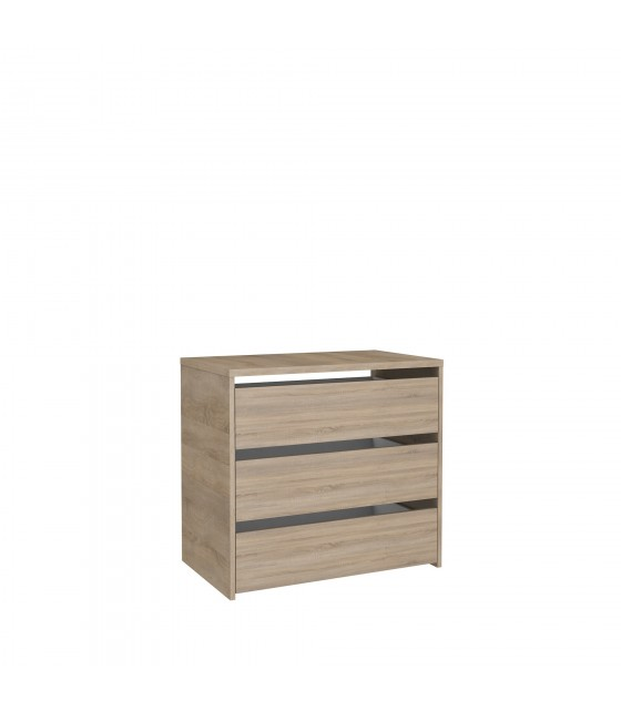 Cajonera de madera para armario de 120 cm