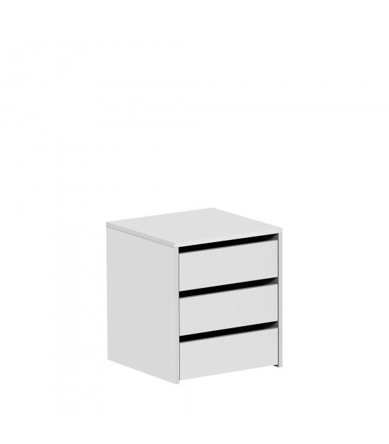 Cajonera blanca para armario de 120 cm