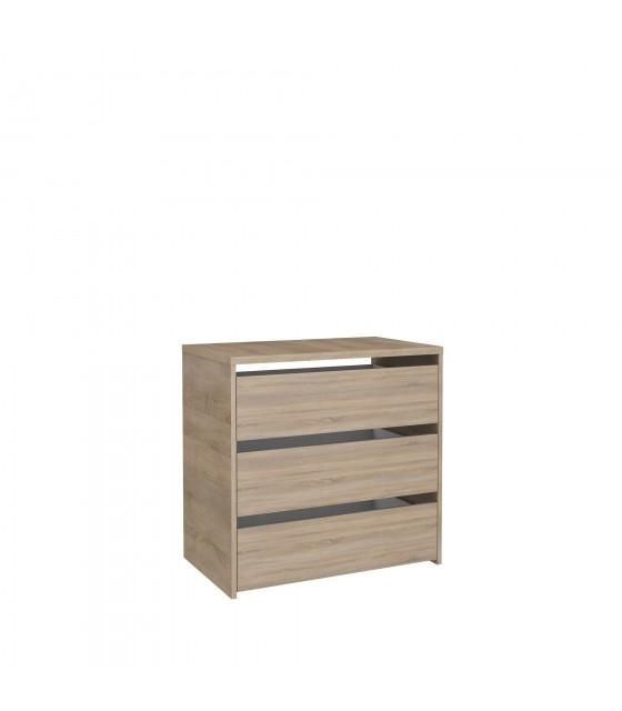 Cajonera para armario de 150 cm de madera