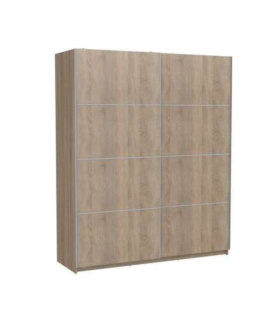 Armadio scorrevole oak180cm largo