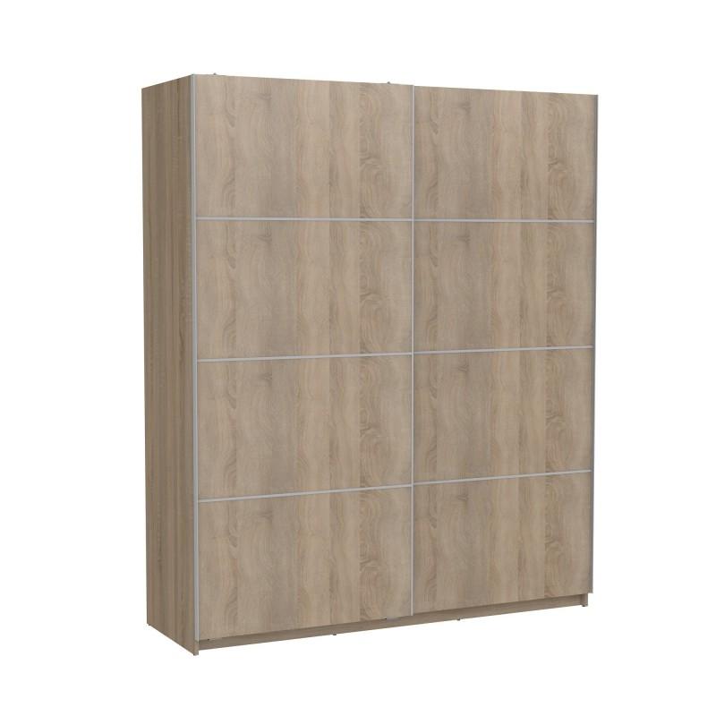 Armario correderas roble180cm ancho  Muebles Dormitorio Armarios dormitorio  Medidas: 1800x600x2200mm; Incluye herramientas: si