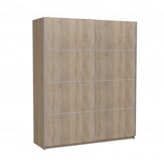 Armario correderas roble180cm ancho Muebles Dormitorio Armarios dormitorio Medidas: 1800x600x2200mm; El paquete cabe en el