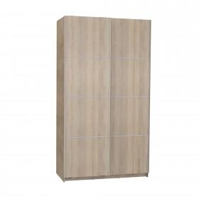 Armario correderas roble 120cm ancho Armarios dormitorio Medidas: 1200x600x2200m; El paquete cabe en el ascensor: si - el