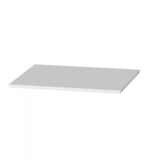 Estante blanco para armario de 180 cm