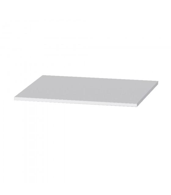 Estante blanco para armario de 120 cm