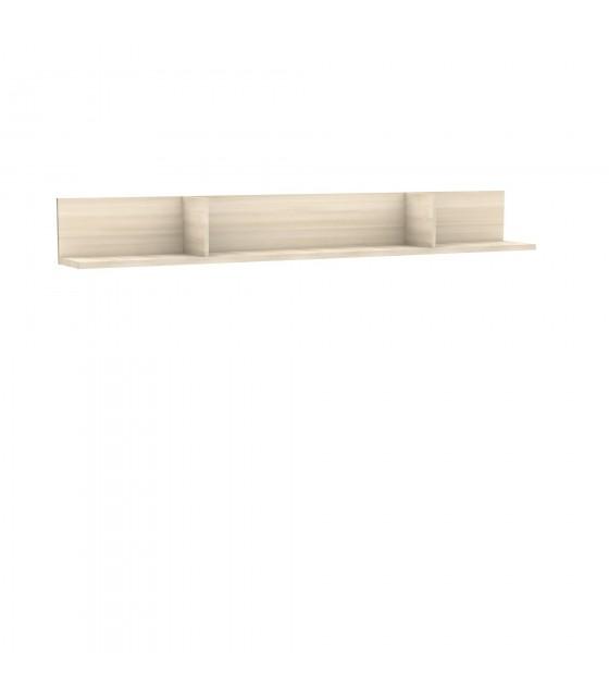 Estante de pared 250 cm natural