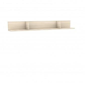 Estante de pared 205 cm natural  Home Muebles juveniles  Medidas: 250x250x2500mm; Incluye herramientas: si - incluye