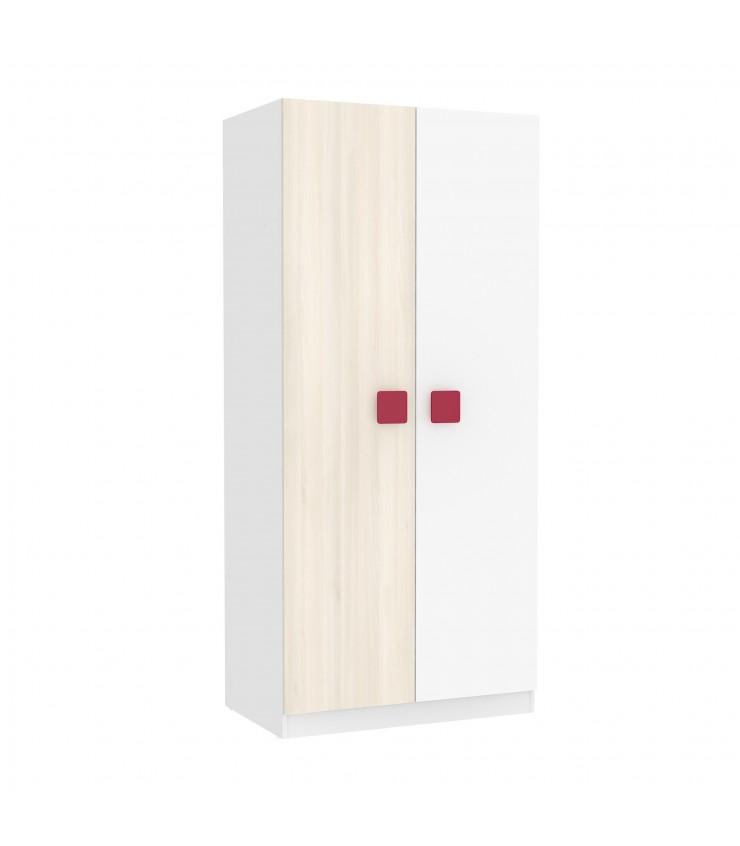 Portas brancas branco e natural combinado portas
