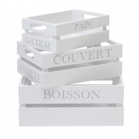 Conjunto de 3 caixas asfeld  ACESSÓRIOS DE COZINHA