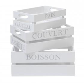 Set 3 cajas asfeld  Muebles Cocina Accesorios de cocina   DISTRIMOBEL Muemue - Muebles