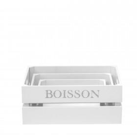 Set 3 cajas asfeld Accesorios de cocina DISTRIMOBEL Muemue - Muebles