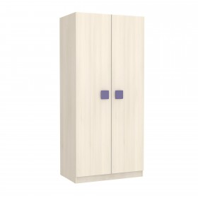 Armario juvenil natural puertas natural Armarios COLORES DISPONIBLES: rojo, blanco, azul, magenta, moka, berenjena DISTRIMOBEL