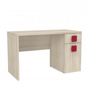 Mesa de criança de madeira DESKTOP COLORES DISPONIBLES: rojo