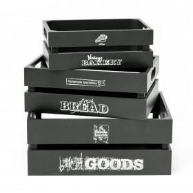 Set 3 cajas bakery  Muebles Cocina Accesorios de cocina  Incluye herramientas: montado. no necesita montaje; Tipo de producto: