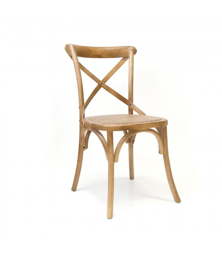 Cadeira de madeira trento e enea