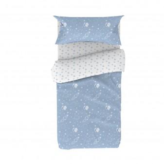 Juego funda nórdica infantil espacio textil Fundas nórdicas Color: pastel frozen; Tipo de producto: edredón; Tematica: space;