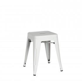 Taburete industrial linx  Salón Taburetes y pufs COLORES DISPONIBLES: blanco, negro, gris perla Patas: patas con conteras de