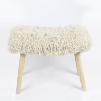 Banqueta de pelo beige  Decoración Infantil Mesitas, sillas y Pupitres  Incluye herramientas: si - incluye herramientas; Patas: