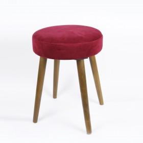 Velvet stool stool BANHEIROS E PUFS COLORES DISPONIBLES: rojo