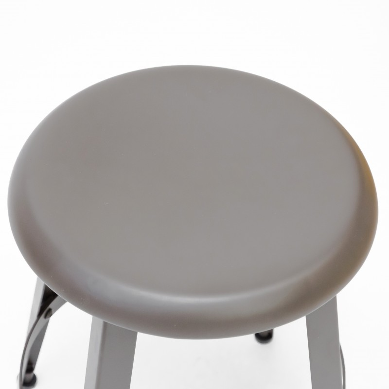 Tabouret métal vintage  SALLE  The package fits in the