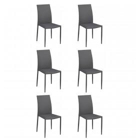 Pack 6 fauteuils de base  OFFRES ET CHAISES PAR PACKS COLORES