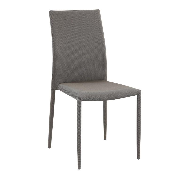 Pack 6 sillas de comedor básicas  Salón Pack sillas comedor COLORES DISPONIBLES: marrón, gris Incluye herramientas: si - incluye