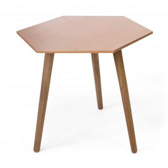 Conjunto 2 mesas auxiliares hexagonales Salón Mesas auxiliares COLORES DISPONIBLES: gold, copper El paquete cabe en el ascensor