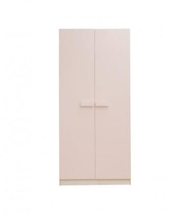 Armario juvenil natural puertas en colores pastel tiradores grandes  Armarios juveniles COLORES DISPONIBLES: azul frozen, rosa