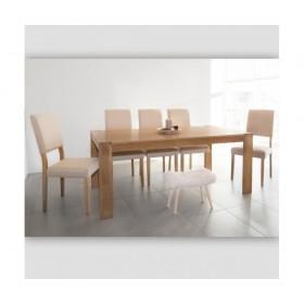 Table de chambre de chêne solide TABLE DISTRIMOBEL Muemue -