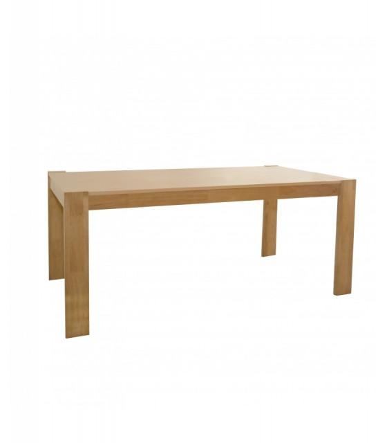 Mesa de comedor de roble macizo