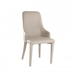 Chaise de salle à manger rembourrée polipiel SALLE COLORES