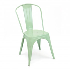 Chaise industrielle linx SALLE COLORES DISPONIBLES: menta