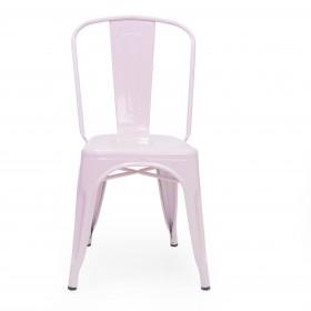 Silla industrial linx Hogar Salón COLORES DISPONIBLES: menta, gris galbanizado, blanco mate, azul frozen, rosa pastel, amarillo