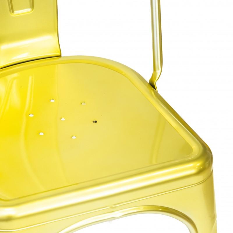 Chaise industrielle linx luxe  CHAISES COLORES DISPONIBLES: