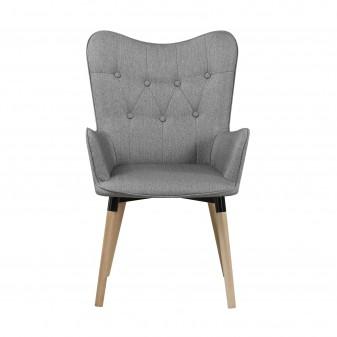 Sillón claire Salón Sofás y sillones COLORES DISPONIBLES: gris, marrón El paquete cabe en el ascensor: si - el paquete cabe en