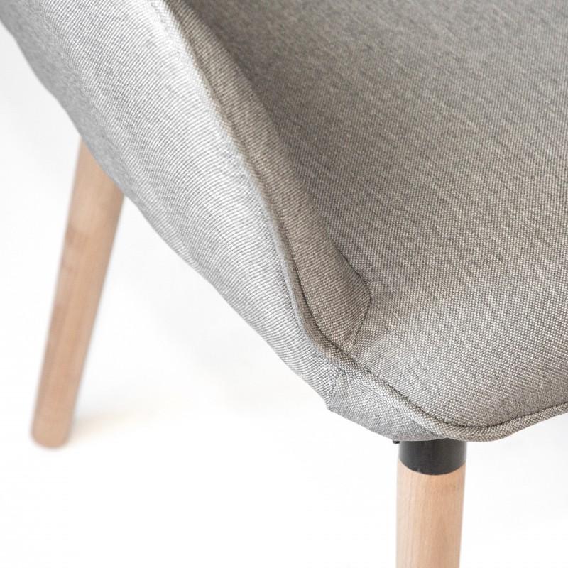 Sillón claire  Salón Sofás y sillones COLORES DISPONIBLES: gris, marrón Incluye herramientas: si - incluye herramientas; Patas: