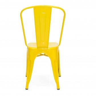 Silla industrial linx Salón COLORES DISPONIBLES: menta, gris galbanizado, blanco mate, azul frozen, rosa pastel, amarillo El