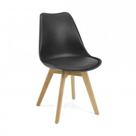 Cadeira nórdinca SALÃO COLORES DISPONIBLES: blanco, negro