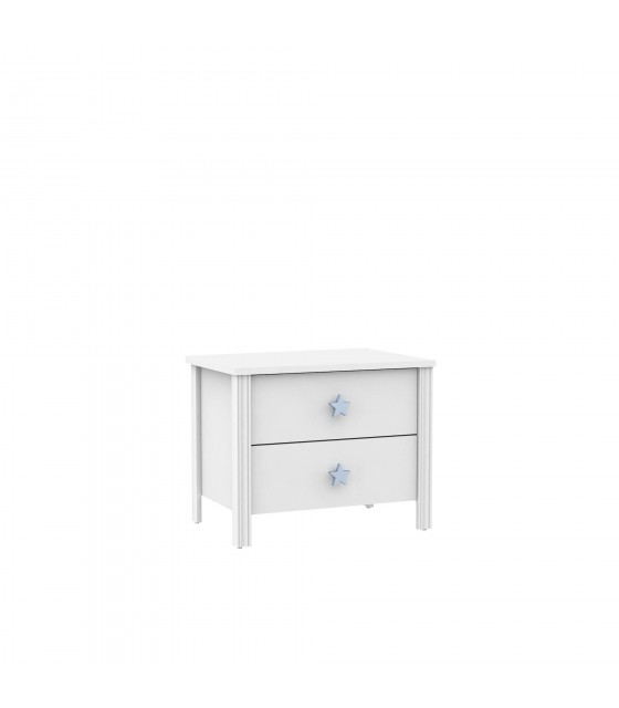 Table de chevet infantil pull star blue