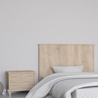 Cabezal madera natural  Cabeceros  Medida producto alto: 1255mm; Medida producto ancho: 1596mm; Medida producto profundo: 40mm;