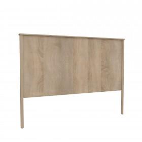 Cabezal melamina efecto madera natural  Muebles Dormitorio Cabeceros de madera  Medida producto alto: 1255mm; Medida producto
