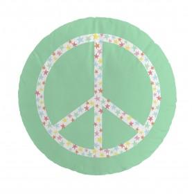 Almofada solar da paz da faixa  TÊXTIL   DISTRIMOBEL Muemue -
