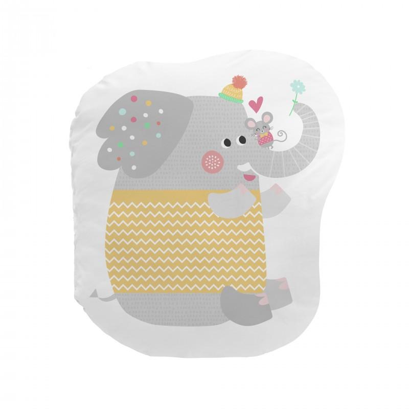 Cojín love is all elefante  textil Cojines   DISTRIMOBEL Muemue - Muebles